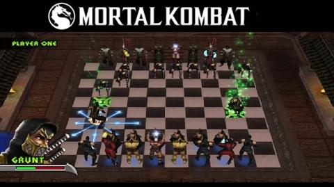 Mortal Kombat Unchained Chess Kombat Gameplay PSP
