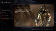 MKX Scorpion Alternate Injustice Costume