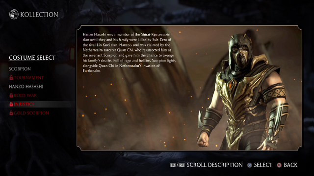 File:MKX Scorpion Alternate Injustice Costume.png