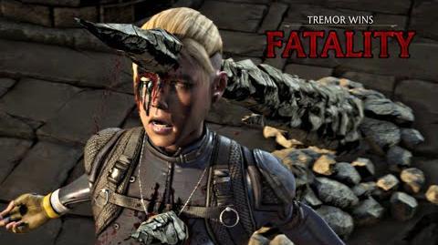 "MORTAL KOMBAT X · Tremor ""Stalag-Might"" Fatality HD MKX"