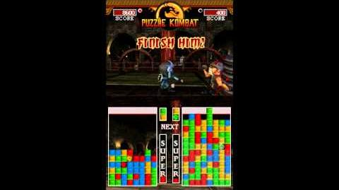 Ultimate Mortal Kombat (Nintendo DS) - All Puzzle Kombat Fatalities