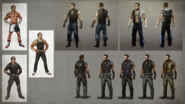 MKX Johnny Cage Concept Art 4
