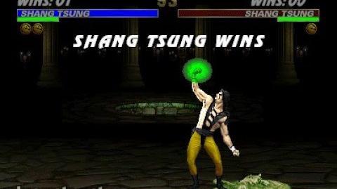 Mortal Kombat 3 - Fatality 2 - Shang Tsung