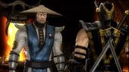 Raiden Confronts Scorpion