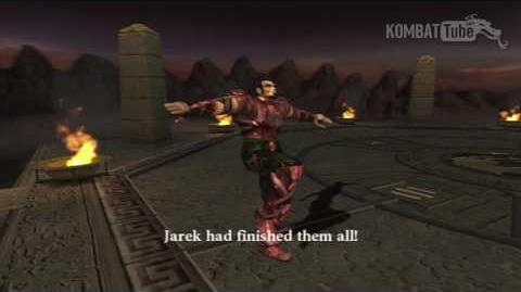 MK-Armageddon Ending- Jarek