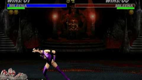 Ultimate Mortal Kombat 3 - Fatality 2 - Mileena