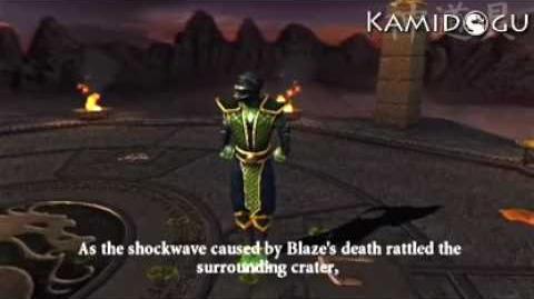 Mortal Kombat Armageddon Reptile's Ending