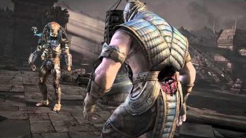 Mortal Kombat X - Predator - Fatality 2