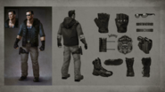 MKX Johnny Cage Concept Art 5