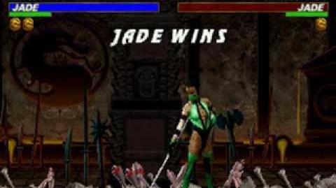 Mortal Kombat Trilogy - Brutality - Jade
