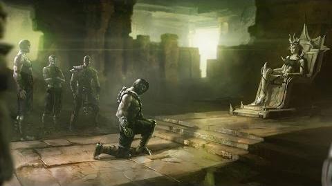 Mortal Kombat X - Reptile's Ending