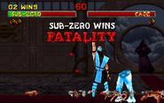 Sub-Zero Fatality MK2