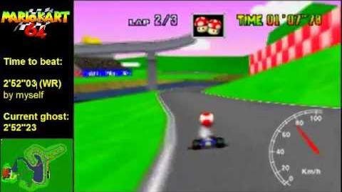 "Mario Kart 64 WR 2'51""97 Royal Raceway"