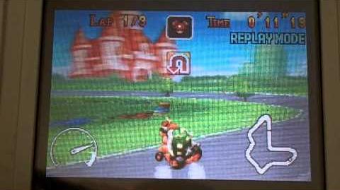 """MK Super Circuit WR 0'43""""83 Peach Circuit"""