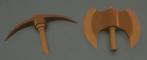 Large axes