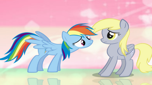 File:Rainbow dash with derpy hooves by onionji01-d5zu4w7.png