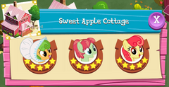 Sweet Apple Cottage residents