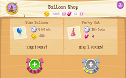 Balloon Shop Products