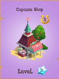 Cupcake Shop Store Locked