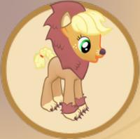 Brave Lion Applejack Outfit