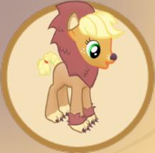 File:Brave Lion Applejack Outfit.png