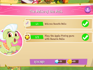 The Belle of the Ball tasks
