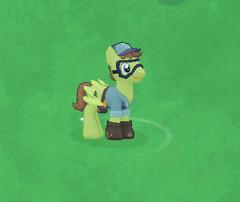 Horticultural Pegasus Character Image