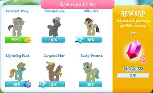 Cloudsdale Ponies