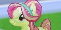 Yellow Crystal Pony