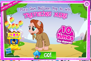 Traveling Mare Balloon Pop Promo