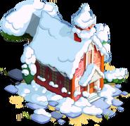 Schoolhouse Winter