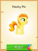 Peachy Pie unlocked