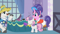 Rarity's parents praising Sweetie Belle S2E5