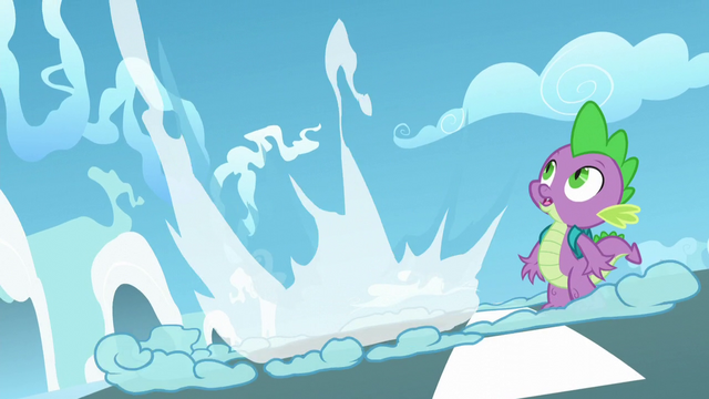 File:Spike sees Twilight blast off S5E26.png