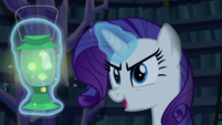 "Rarity ""and haunted all the costumes"" S5E21"