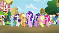 "Mane 6 and Starlight sings ""When you find it, it's the key"" S5E26"