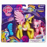 Rainbow Power Princess Gold Lily & Pinkie Pie