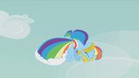 Rainbow descends S1E14