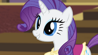 Rarity 'How would you like to work...' S4E08
