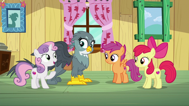"File:Sweetie ""you may not be able to get a cutie mark"" S6E19.png"