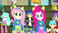 Pinkie Pie and Fluttershy look confused SS4.png