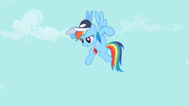 "File:Rainbow Dash ""Any questions"" S2E07.png"