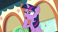 Twilight thinking worriedly S03E12