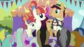 Booth barker congratulates unicorn sisters S5E17.png