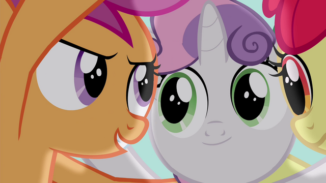 """File:Scootaloo """"they won't be able to laugh at us"""" S4E15.png"""