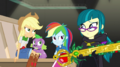 Applejack and Rainbow Dash glare at Juniper EGS2.png