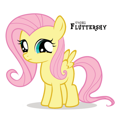 File:FANMADE Young Fluttershy.png