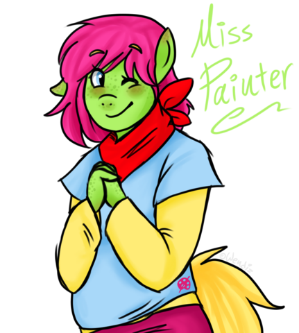 File:FANMADE Miss Painter.png
