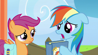 "Rainbow Dash ""I thought it was utterly mortifying"" S7E7"