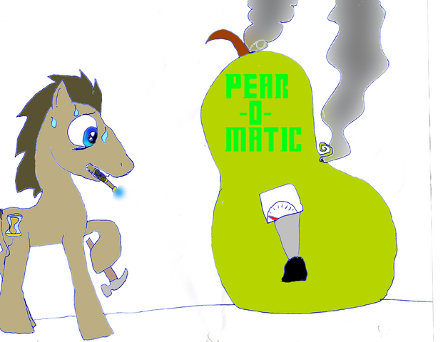 File:FANMADE Dr. Hooves and the auto pear machine.png